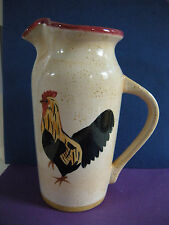 Blue Sky Authentic Stonewear Rooster Pitcher