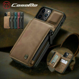 CaseMe Flip Leather Wallet Phone Case Cover For iPhone 12 / Pro, New!