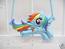 My Little Pony Rainbow Dash necklace - blue - Costume Jewellery Necklace