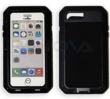 Heavy Duty Shockproof Aluminum Metal Cover Case Apple iPhone Models 7+ 7S+ Black