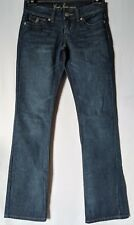 "WOMEN'S JEANS GUESS BOOTCUT STRETCH SIZE 8 LEG 33"" NEW FREE POSTAGE"