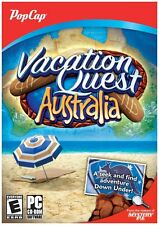 Vacation Quest Australia - Hidden Object Puzzle Windows Computer Game - LOW SHIP