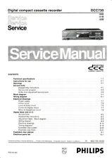 Service Manual-Anleitung für Philips DCC 730