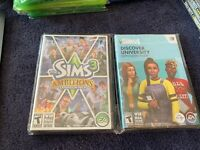 The Sims 3 Ambitions PC Sealed Discover University Expansion