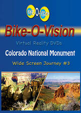 "Bike-O-Vision Cycling Video, ""Colorado National Monument"" Widescreen DVD"