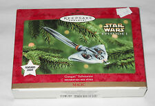 Star Wars - Gungan Submarine Ornament - new in box - 100% complete