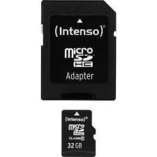 Intenso microSDHC 32GB Class 10 MicroSD Karte inkl. SD-Adapter