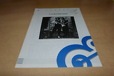 STEVIE RAY VAUGHAN - V BROTHERS!!!RARE FRENCH PROMO BIO