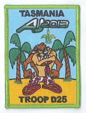 AJ2013 - AUSTRALIA SCOUT NATIONAL JAMBOREE - TASMANIA TROOP D25 SCOUTS BADGE