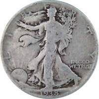 1938 Liberty Walking Half Dollar AG About Good 90% Silver 50c US Coin
