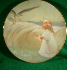 "Collector Plate ""A Friend in the Sky"" by T. Utz.Precious Moments Collection Vgc"