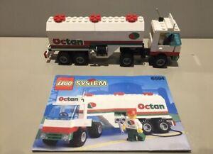 Lego Set 6594 Octan Gas Tanker 1992 Complete & Instructions