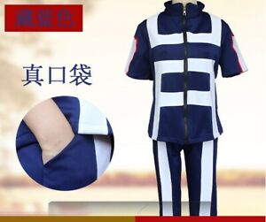Young people's coat+  pants set,Anime My Hero Academy, cos My hero College