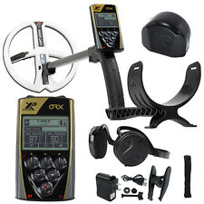 """Xp Orx Metal Detector w/ Wsaudio Wireless Headphones and 9"""" Round Dd Coil"""