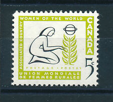 CANADA 1959 ASSOCIATED COUNTRY WOMEN OF THE WORLD COMMEMORATION SG511  MNH