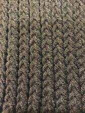 New Handmade Knitted Dark Chocolate Brown Scarf