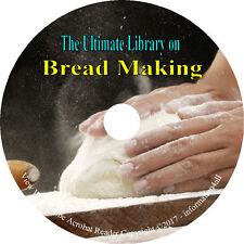 45 Books on CD, Ultimate Library on Bread & Bread Making, Bake Recipes Homestead