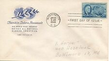 US FDC #933 Roosevelt, House Of Farnam (4061)