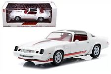 1981 Chevy Camaro Z28 T-Top White / Red Stripes Greenlight 12906 Diecast  1/18