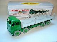 Atlas Dinky Supertoys No.505/905 Green / Grey Foden Flat Chains Truck Mint/bxd