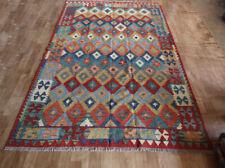 Premium Afghan Handmade Kilim Rug, Miamana/Chobi  Reversible Rug,Size 248x180cm.