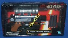 Star Wars EPISODE I Naboo firing Blaster W viewing SCOPE Factory Sealed NEW 1998