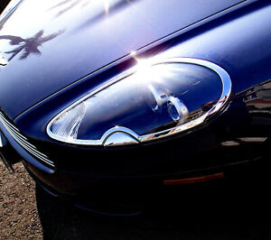 IDFR Aston Martin 2004~on DB9 Chrome cover for head light washer cover