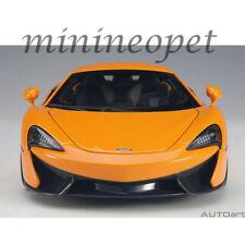 AUTOart 76044 MCLAREN 570S 1/18 MODEL CAR MCLAREN ORANGE with SILVER WHEELS