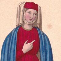 Agnès de la Queue en Brie Erard De Trainel Seigneur de Foissy et de Pouy XIIIe