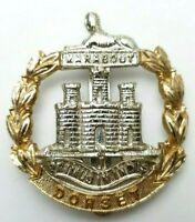 The Dorset Regiment Anodised Staybright cap badge - JR Gaunt London - Slider