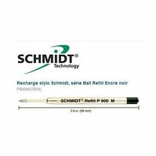 1 Recharge stylo PARKER ou autres - SCHMIDT P900 M NOIR pointe tarif 5€  ->>> 1€