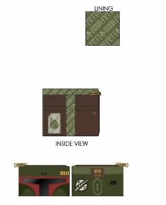 (PREORDER) Loungefly Star WarBOBA  FETT FLAP Wallet