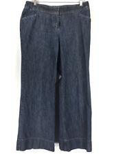 J Jill size 12P 12 Petite Trouser Jeans Dark Antique Wash Bootcut Below Waist