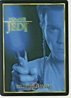 Star Wars Young Jedi CCG Battle Of Naboo Sith Lightsaber # 110