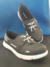 Women's Black And White Speedo Boat Shoes Size 9