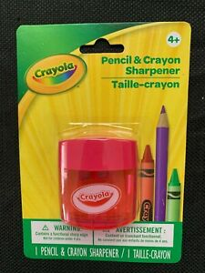 New in Package Crayola Pencil and Crayon Sharpener Pink