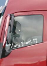 VOLVO VIKING POWER LOGO WINDOW STICKER FH12 FH16 GLOBETROTTER FM HAULAGE DRIVER