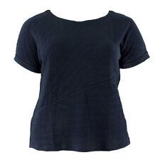 ESPRIT Damen T-Shirt 047EE1J006 Dunkelblau / 3XL / Shirt, Oberteil