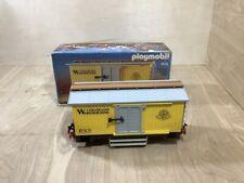 Playmobil 4122 Train Wagon Colorado Warehousing West Train Car in Original Box