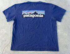 Patagonia Organic cotton short sleeve T-shirt Men's L dark blue