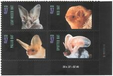USA 2002 Bats/Animals/Nature/Wildlife/Conservation/Environment 4v s/a blk s1896