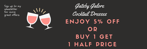 Gatsby Galore Cocktail Dresses