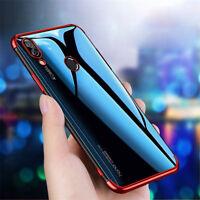 For Huawei Nova 3i 3 3E 2i Shockproof Slim Soft Electroplate TPU Back Case Cover