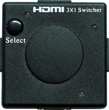 HDMI Mini Switcher 3>1 HDMI Splitter HCDP FullHD PS 1.3b Automatisch Eagle Cable