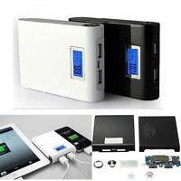 Power Bank Kit LCD Dual USB 5V 12000Mah 18650 Battery Charger Box For Phone MT