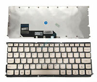 New Black Lenovo XIAOXIN Air 12 Gold Keyboard US LCM15H3 No Frame