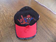 Baseball Cap Hat Marvel Embroidered Spiderman Black red sunglass adjustable Kids