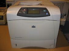 HP LaserJet 4350DN 4350 Fast A4 Mono Duplex Network Ready Laser Printer Warranty