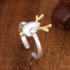 Damen Ring 925 Sterling Silber vergoldet