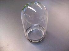 Cristal Pantalla de lámpara vidrio reemplazo CILINDRO CERRADO TRANSPARENTE E27
